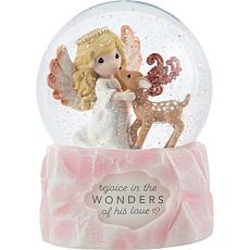 Precious Moments Rejoice  9th Annual Angel Snow Globe