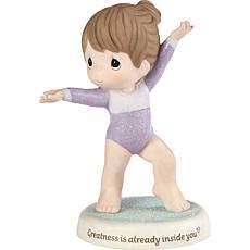 PreciousMoments Greatness IsAlready Inside You Gymnast PorcelainFigure