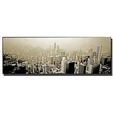 "Preston ""Chicago Skyline"" Canvas Art - 16"" x 48"""