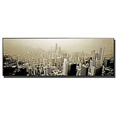 """Preston """"Chicago Skyline"""" Canvas Art - 16"""" x 48"""""""