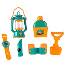 Pretend Play Camping Set w/ Lantern  Compass  Binoculars   More By ...