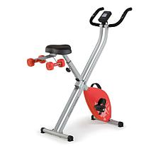 ProForm X-Bike Elite Folding Upright with iFit & 2 lb. Weight Set