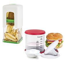 Progressive Burger and Fries Set