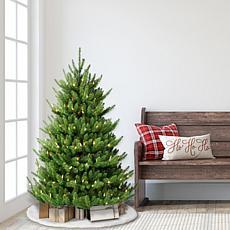 Puleo International 4.5' Canadian Balsam Fir Artificial Christmas Tree