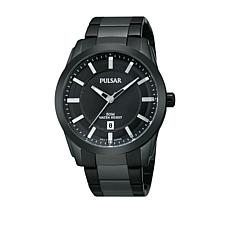 Pulsar Men's All-Black Bracelet Watch