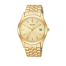 Pulsar Men's Goldtone Stainless Steel Bracelet Watch