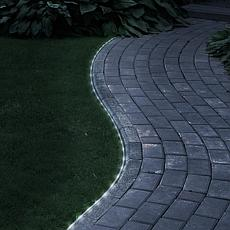 Pure Garden Solar-Powered LED Rope Lights - 23'