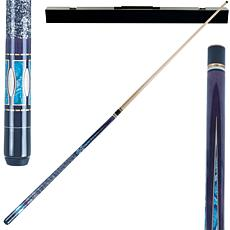 Purple Matrix Hardwood 2-piece Pool Cue with Case