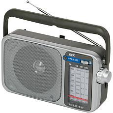 QFX R-24 Retro AM/FM SW1 & SW2 Portable Radio