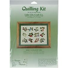 Quilling Kit - Berry Sampler