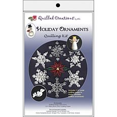 Quilling Kit - Holiday Ornaments