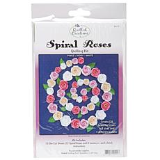 Quilling Kit Spiral Roses - White, Ivory, Pinks