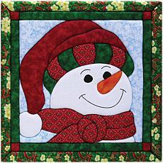 Quilt Magic No-Sew Wall Hanging Kit - Snowman