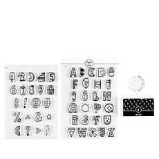 Rad & Happy Funshine 48-piece Stamp Set with Ink Pad