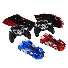 Radical Racers Remote Controlled 2pk with Track