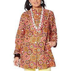 Rara Avis by Iris Apfel Embroidered Jacket