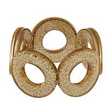 Rara Avis by Iris Apfel Glitter Link Stretch Bracelet
