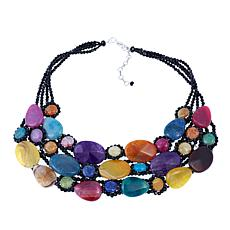 Rara Avis by Iris Apfel Multicolor Stone Necklace