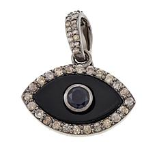 Rarities Onyx, Sapphire & Diamond Evil Eye Enhancer