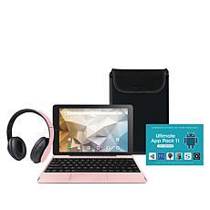 "RCA Pro+ 10"" HD 32GB Quad-Core Tablet w/Headphones, Keyboard & Sleeve"