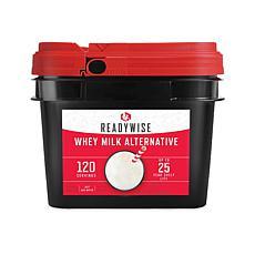ReadyWise 120 Servings Emergency Whey Milk Alternative