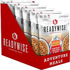 ReadyWise 6 CT Case Treelline Teriyaki Chicken & Rice