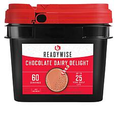 ReadyWise Company 60-Servings Chocolate Dairy Delight Bucket