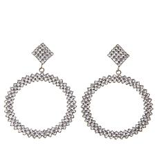 Real Collectibles by Adrienne® Dangle Hoop Earrings