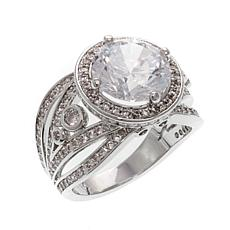 Real Collectibles by Adrienne® Diamonite CZ Ring
