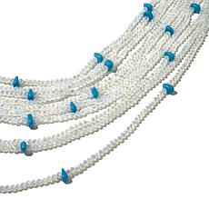 Real Collectibles by Adrienne® Opal-Color Bead Necklace