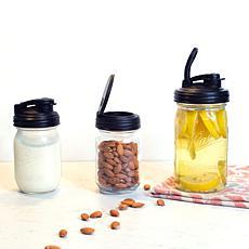 reCAP 6-piece Set of Assorted Mason Jar Lids