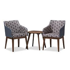 Reece 3-Piece Lounge Chair and Side Table Set