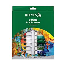 Reeves Acrylic Paint Set of 24