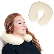 Remedy Memory Foam Head and Neck Support Transit Pillow