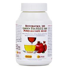Resveratrol-EGCG-Pomegranate - 30 Capsules