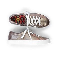 Revitalign Alameda Metallic Full Grain Leather Shoe