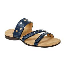 Revitalign Playa Slide Full Grain Leather Sandal