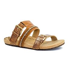 Revitalign Sofia Slide Leather Sandal