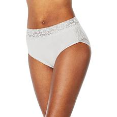 Rhonda Shear 3-pack Ahh Panty with Lace Edge