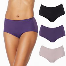 Rhonda Shear 3-pack Invisible Body Brief