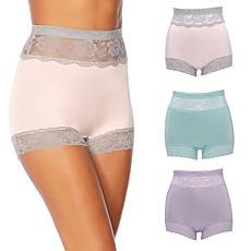 Rhonda Shear 3-pack Pin Up Panty Set