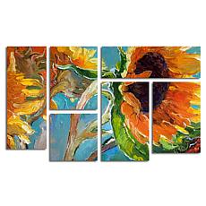 "Richard Wallich ""Sun 11"" Multi Panel Art Collection"