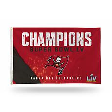 Rico Industries Buccaneers 2021 Super Bowl LV Champs Banner Flag