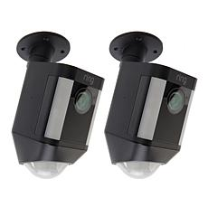 Ring Spotlight HD Camera 2pk w/Motion Sensor & Siren Alarm - Battery