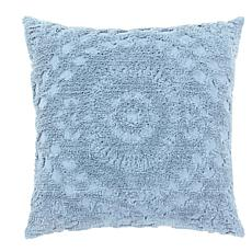 Rio Collection 100% Cotton Tufted Chenille Sham - Euro