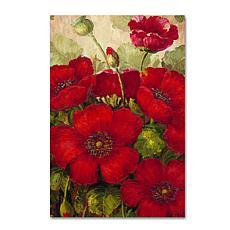 "Rio ""Poppies II"" Canvas Art - 24"" x 16"""