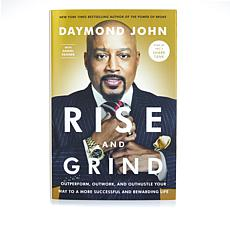 "Rise and Grind"" Handsigned Book by Daymond John"