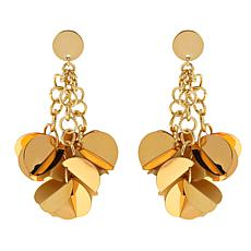 "R.J. Graziano ""Runway Report"" Sequin Cluster Drop Earrings"