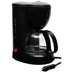 RoadPro 12-Volt Coffee Maker with Glass Carafe