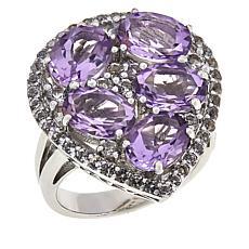 "Robert Manse ""Gem RoManse"" Sterling Silver Gemstone Pear-Shaped Ring"